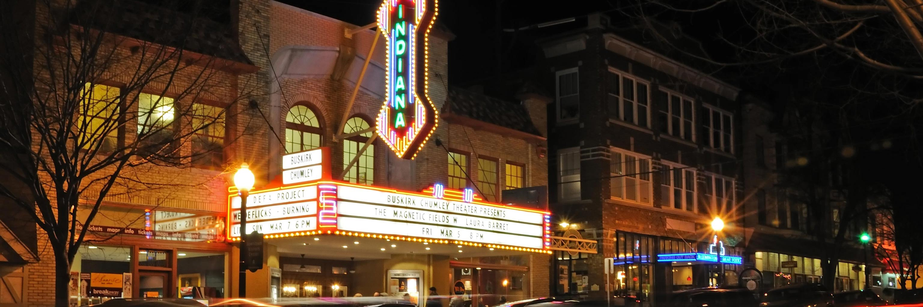 Buskirk theatre light marque